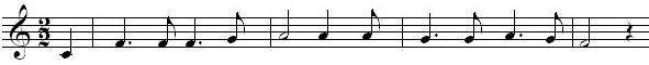 spartito musicale