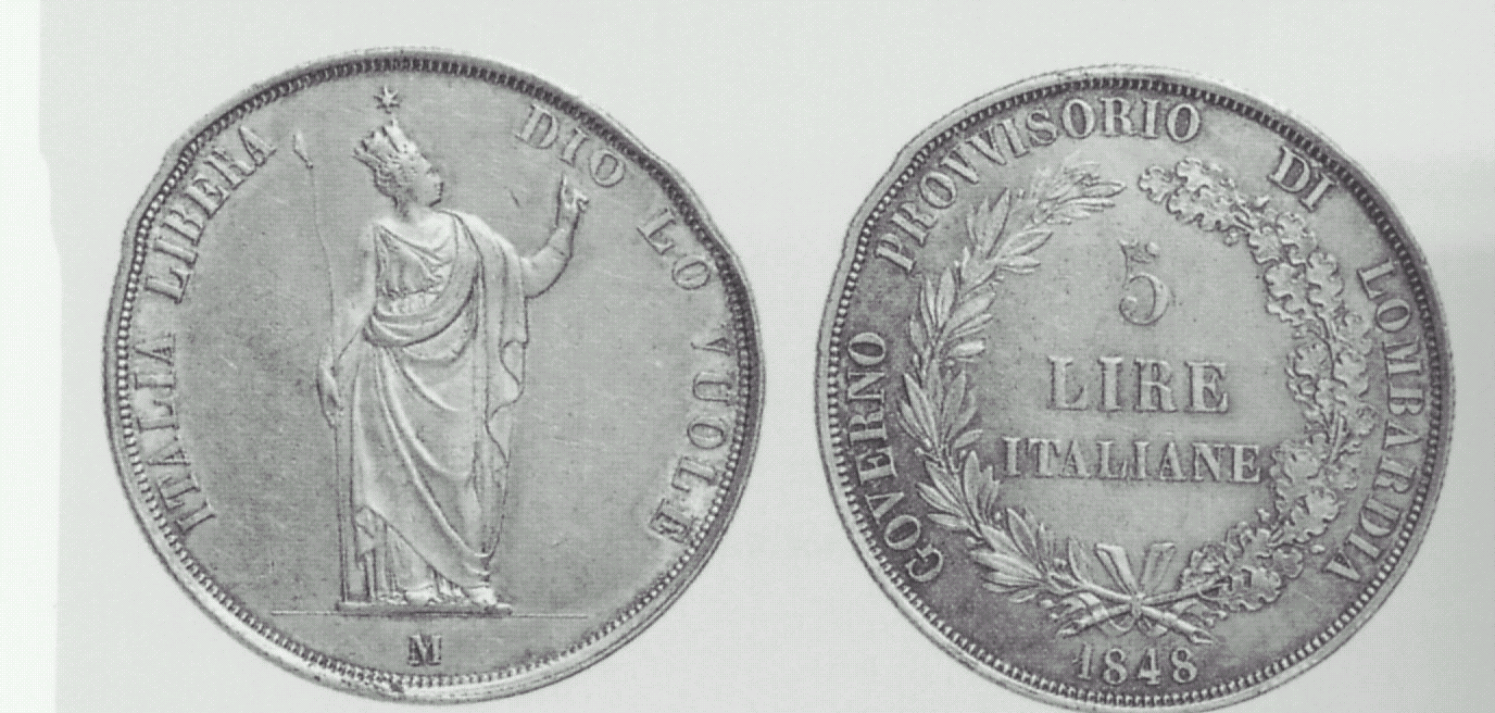 monetazione patriottica 1